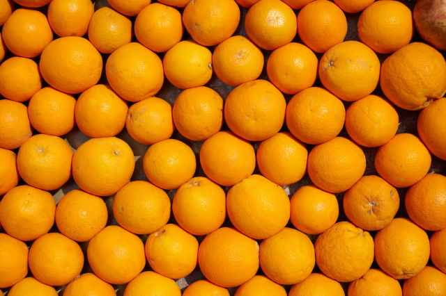 orange fruits